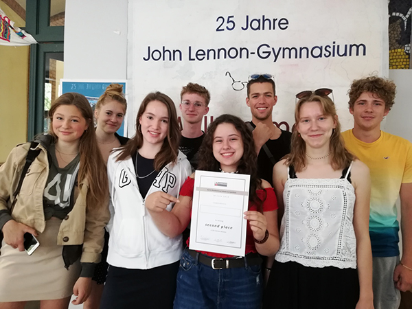Berlin Debating Competition 2019 - 2. Platz Q2 JLG